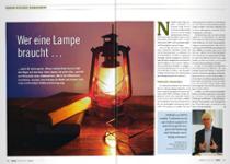 Wer eine Lampe braucht...