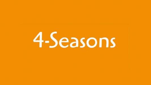 4-Seasons: ArtArktische Fotos - Zwei Nordlichter im Eis